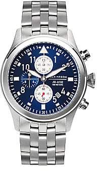 Cartier Jack Mason Jack Mason Men's Aviation Stainless Steel Sunray Dial Bracelet Watch