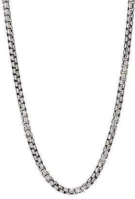 Degs & Sal DEGS & SAL MEN'S BOX CHAIN NECKLACE