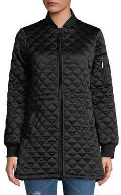 Weatherproof Quilted Puffer Jacket