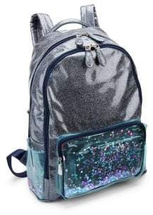 Bari Lynn Girl's Glitter Backpack