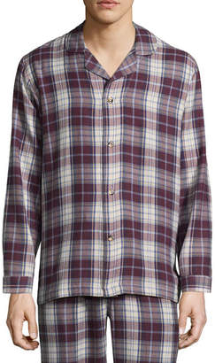 Izod Flannel Pajama Top