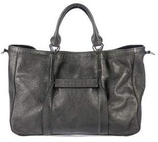 Longchamp Metallic Leather Tote