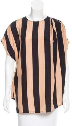 Cédric Charlier Striped Oversize Top