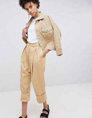 Asos Drop Crotch Twill Pants