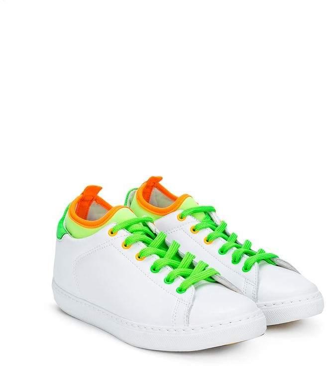 2 Star Kids neon detail sneakers