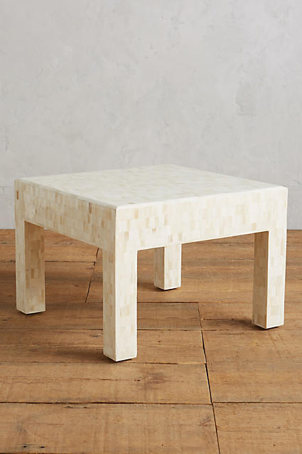Anthropologie Anthropologie Mosaic Bone Coffee Table