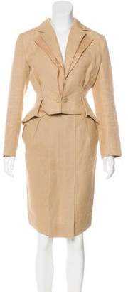Stella McCartney Structured Pleated Skirt Suit