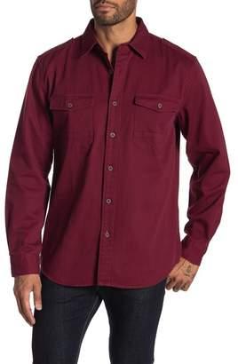 Weatherproof Washed Solid Shirt