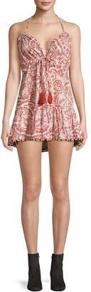Tularosa Women's Lori Paisley Mini Dress