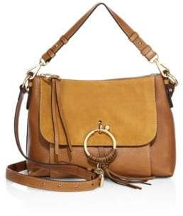 See by Chloe Joan Small Leather& Suede Shoulder Bag
