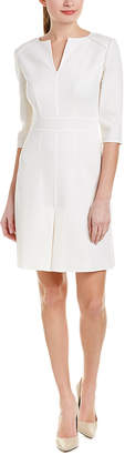 Carolina Herrera Wool Sheath Dress