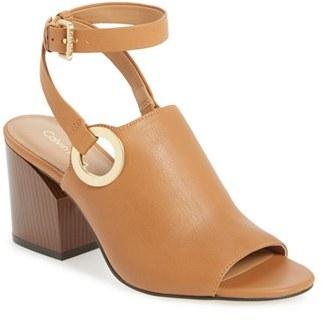 Women's Calvin Klein 'Adria' Wraparound Ankle Strap Sandal $179.95 thestylecure.com