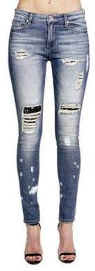Cult of Individuality Gypsy High-Rise Distressed Jeans
