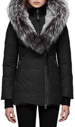 Mackage Priya-X Coat w/ Fox Fur Trim & Rabbit Fur Lining