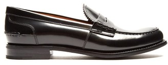 Church's Pembrey Leather Penny Loafers - Womens - Black