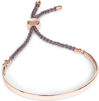 Monica Vinader Fiji 18ct rose gold-plated friendship bracelet