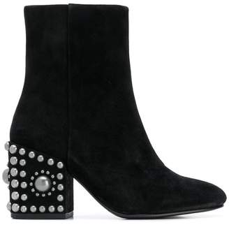 Shopstyle Women's Black Boots Studded Ash nTqHYw6Rn