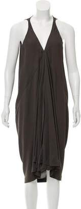 Rick Owens Sleeveless Midi Dress