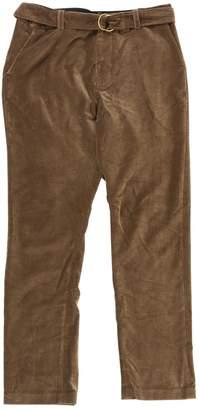 Laurence Dolige Brown Velvet Trousers