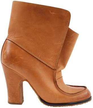 Maison Margiela Camel Leather Boots
