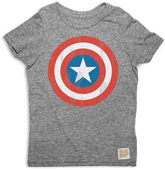 Original Retro Brand Boys' Captain America Tee - Little Kid