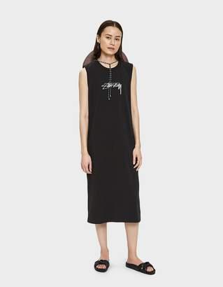 Stussy Ezra Muscle Dress in Black