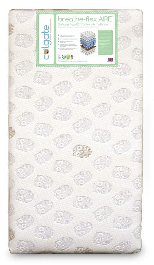 Colgate Breathe-Flex Aire Eco-Friendly Crib Mattress