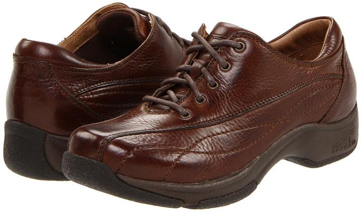 Dansko Kip (Chocolate Milled Leather) - Footwear