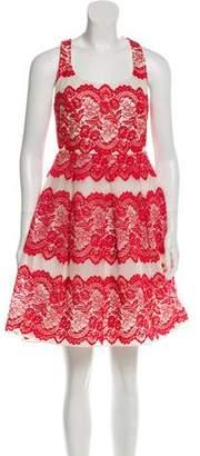 Marchesa Lace Mini Dress w/ Tags