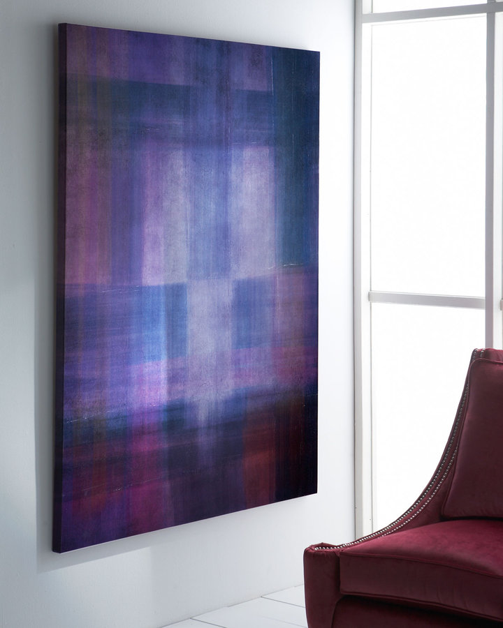 Horchow Viola Abstract Giclee