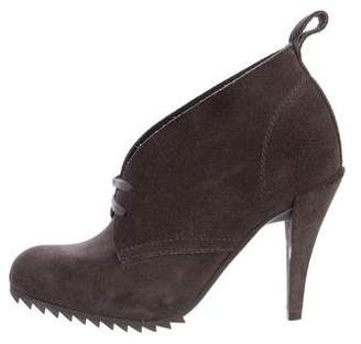 Pedro Garcia Suede Lace-Up Booties