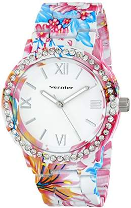 Vernier Women's VNR11168TRP Analog Display Japanese Quartz Multi-Color Watch
