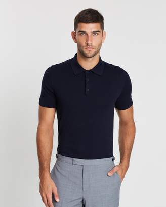 Reiss Varsity Cotton SS Polo