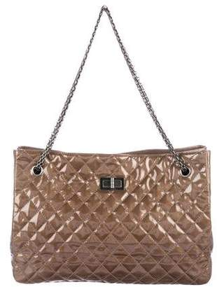 Chanel Patent Reissue Large Tote