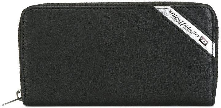DieselDiesel printed logo wallet