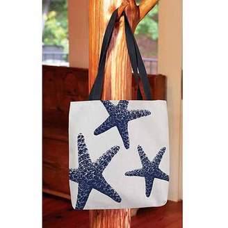 Thumbprintz, Nautical Nonsense Blue White Starfish