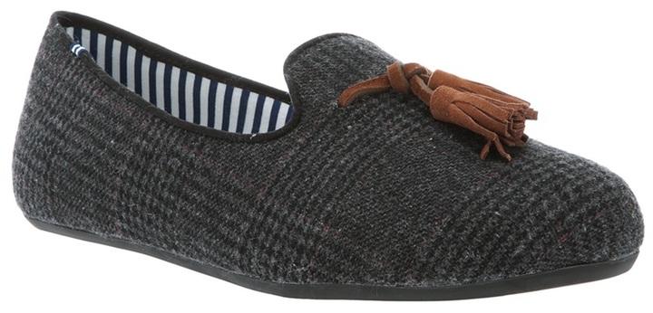 Charles Philip mocassin slipper with tassels