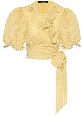 Rokh Cotton-blend top