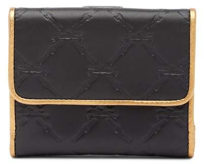Longchamp LM Cuir Deluxe Leather French Purse - BLACK - STYLE