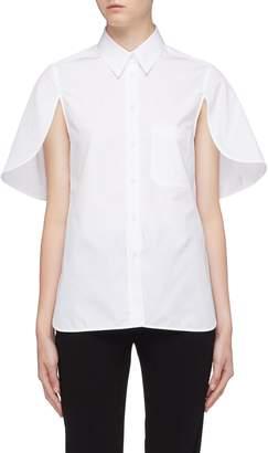 Neil Barrett Split cape sleeve shirt