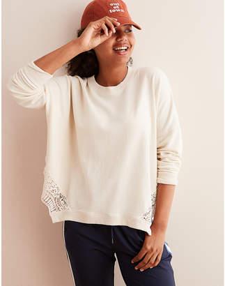 aerie Lace Bottom Sweatshirt