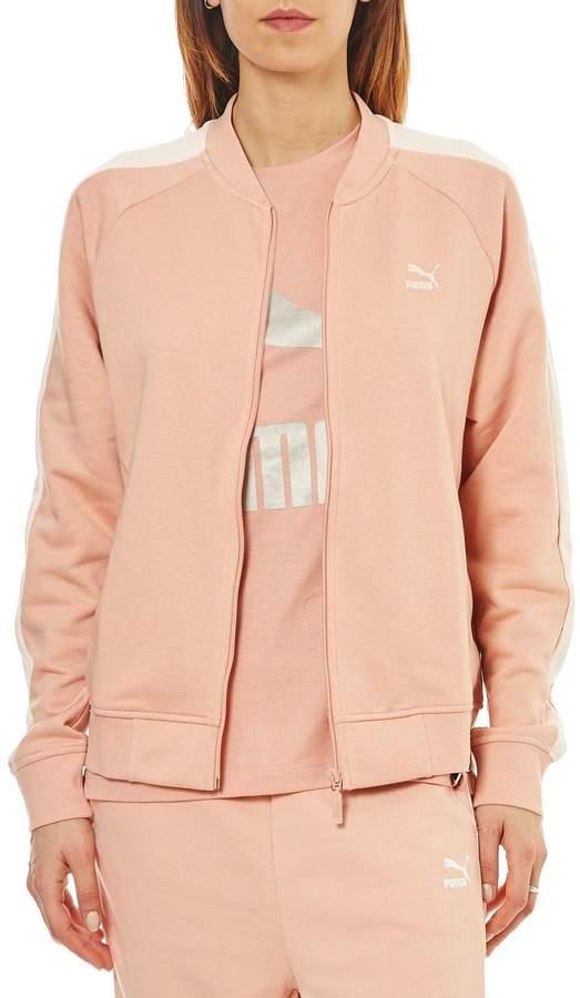 T7 track - Sweatshirt - rosa