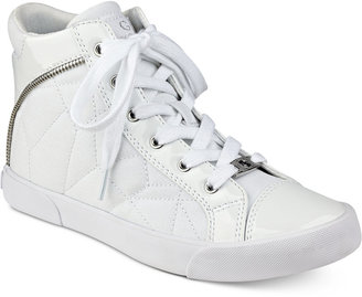 G by GUESS Chief High-Top Sneakers $69 thestylecure.com