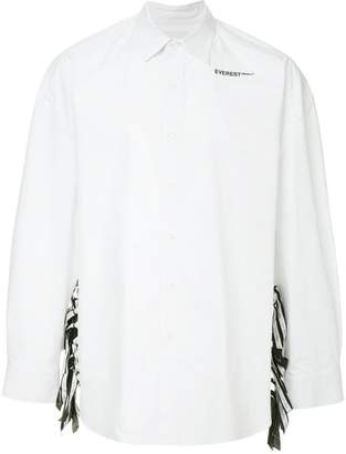 Yoshio Kubo Yoshiokubo lace-up shirt