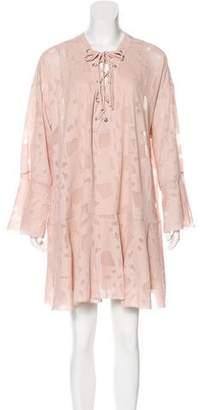 IRO Long Sleeve Mini Dress w/ Tags