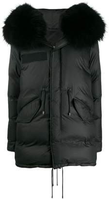 Mr & Mrs Italy full zip puffer coat