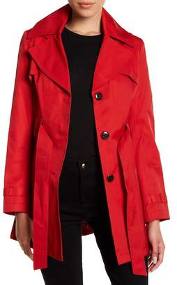 Via Spiga Hooded Trench Coat (Petite) $180 thestylecure.com