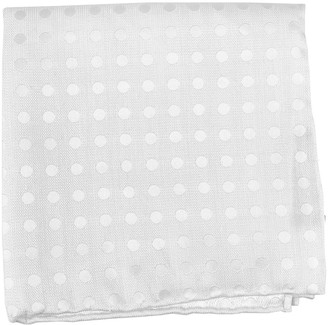 The Tie Bar Textured Linen Polka Dots