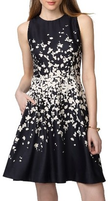 Women's Donna Morgan Floral Fit & Flare Dress $98 thestylecure.com