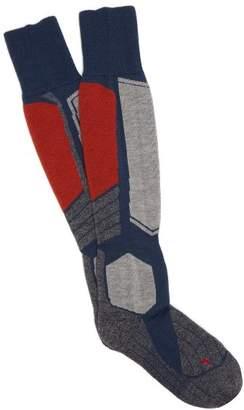 Falke Ess - Sk 1 Ski Socks - Mens - Grey Multi